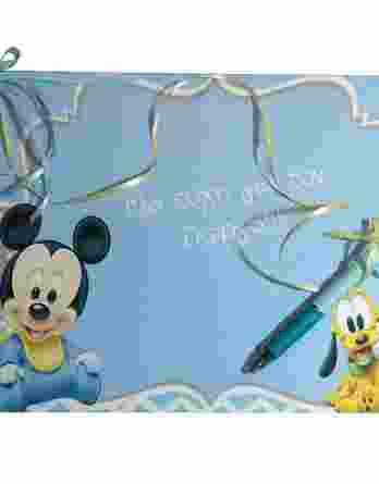 Βιβλίο ευχών Mickey Mouse 19032b