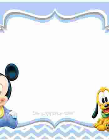 Σουπλά Βάπτισης Mickey Mouse 19032s