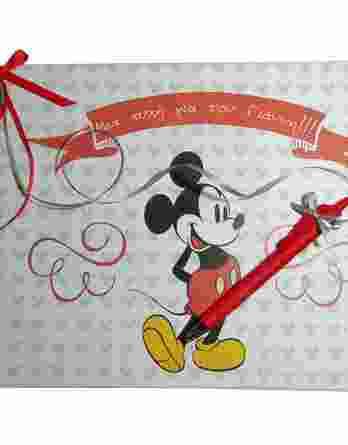 Βιβλίο ευχών Mickey Mouse 19033b