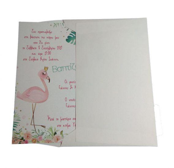 Προσκλητήριο Φλαμίνγκο (flamingo) 20041_2
