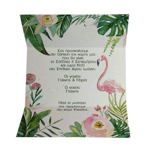 Προσκλητήριο Φλαμίνγκο (flamingo) 20042_1
