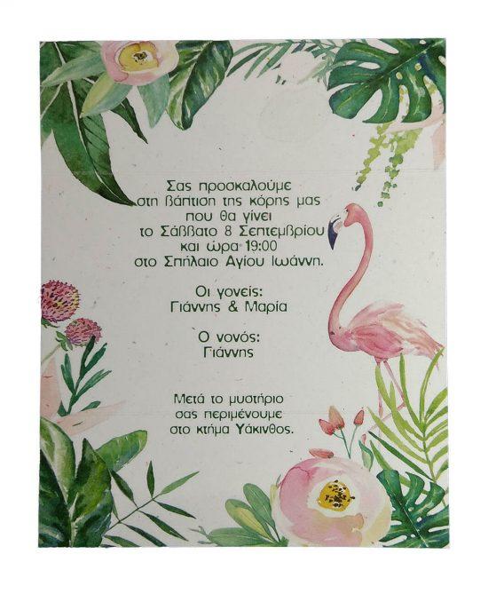 Προσκλητήριο Φλαμίνγκο (flamingo) 20042
