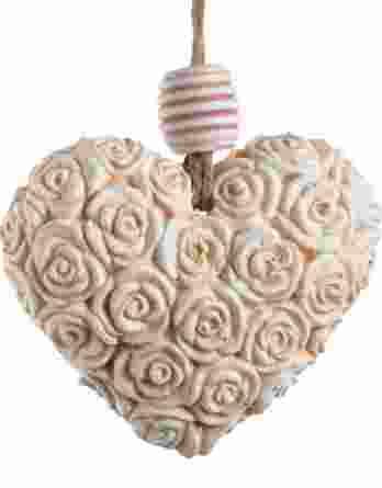 Μπομπονιέρα γάμου Κρεμαστή καρδιά 21034