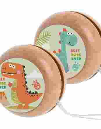 Μπομπονιέρα βάπτισης Ξύλινο yo-yo Δεινόσαυρος 23063