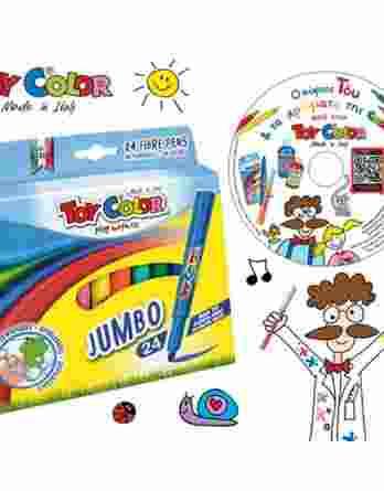 Μαρκαδόροι ζωγραφικής Toy color