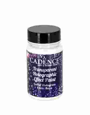 Transparent holographic effect paint 90 ml 100655 Cadence