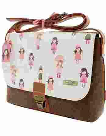 Santoro Gorjuss Traveller Candy Pink / Brown