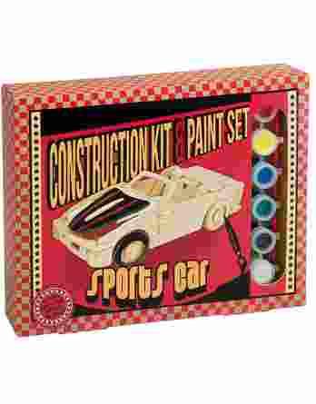 Professor Puzzle Construction Kit - Ξύλινο Αυτοκίνητο Σπορ
