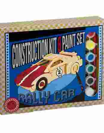 Ξύλινο Αυτοκίνητο Rally