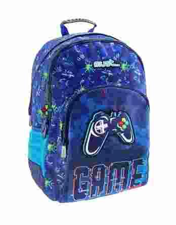 Τσάντα πλάτης Δημοτικού Must energy gamer