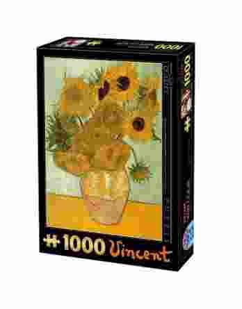 Παζλ Sunflowers Vincent Van Gogh D-Toys 66916-01