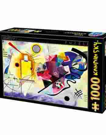 Παζλ Kandinsky Yellow-Red-Blue D-Toys 1000Τεμ. 72849KA03