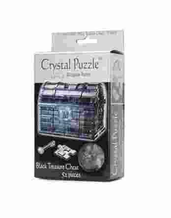 Σεντούκι Θησαυρού Μαύρο Crystal Puzzle 90017