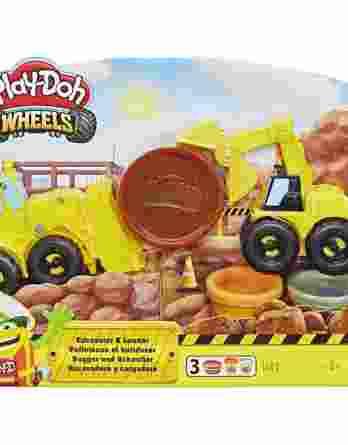 Hasbro Play-Doh Wheels Drive & Dredge Excavator E4294