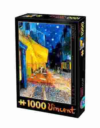 Παζλ Vincent Van Gogh Cafe Terrace at Night D-Toys 1000Τεμ. 66916-09