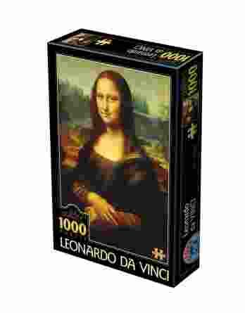 Παζλ Leonardo Da Vinci Mona Lisa D-Toys 1000Τεμ. 72689-01