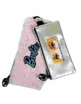Gim Κασετίνα Πλακέ διπλή Barbie Fur Fashion (349-65151)