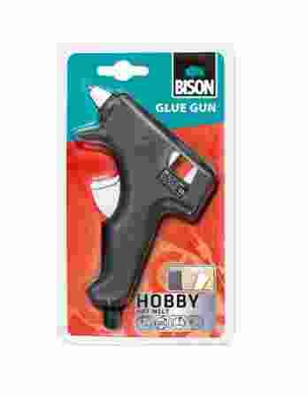 Πιστόλι θερμαινόμενης σιλικόνης Bison 20W 24836