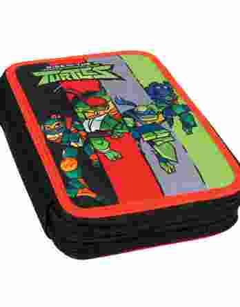 Gim Κασετίνα Διπλή Γεμάτη Ninja Mutant Mayhem 334-23100