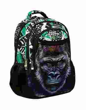 Τσάντα Πλάτης Δημοτικού No Fear Gorilla 347-69031
