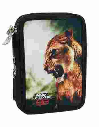 BMU Κασετίνα Διπλή Γεμάτη No Fear Desert Lion 347-72100
