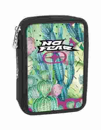 BMU Κασετίνα Διπλή Γεμάτη No Fear Cactus 347-79100