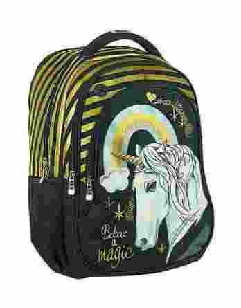 Τσάντα Πλάτης Δημοτικού Magic Unicorn 357-03031