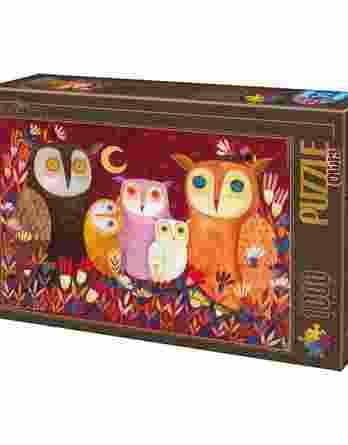 Παζλ Owls Andrea Kurti D-Toys 1000Τεμ. 73747-01