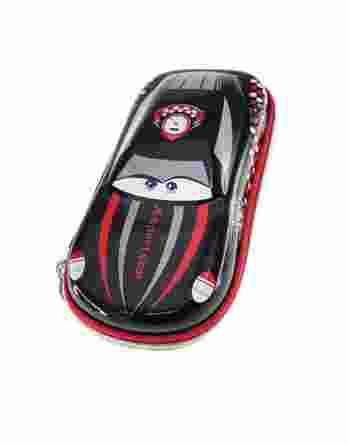 Κασετίνα Οβάλ Graffiti 3D Αυτοκίνητο 200101