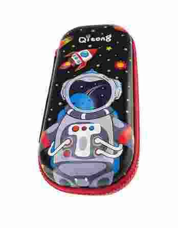 Κασετίνα Οβάλ Graffiti 3D Αστροναύτης 200181