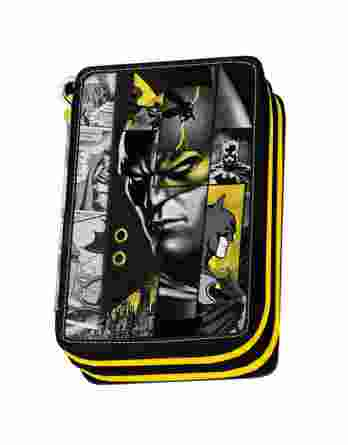 Κασετίνα Διπλή Γεμάτη Graffiti Batman 205331