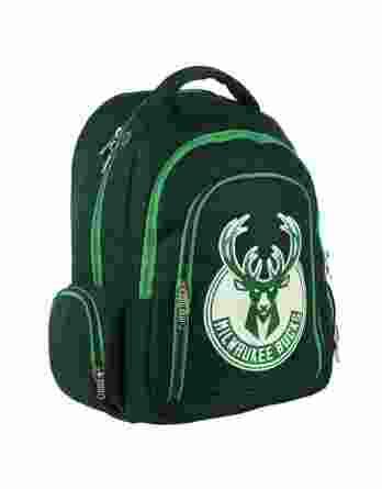 BMU Τσάντα Πλάτης Δημοτικού NBA Milwaukee Bucks 338-49031