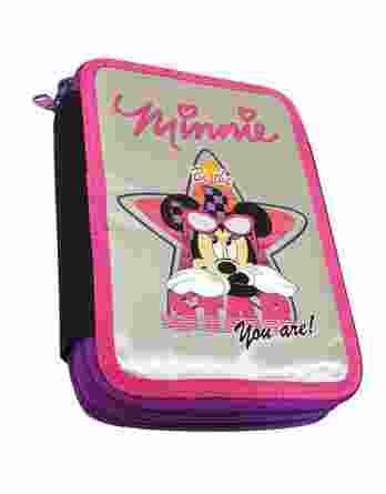 Gim Κασετίνα Διπλή Γεμάτη Minnie Silver Star 340-49100