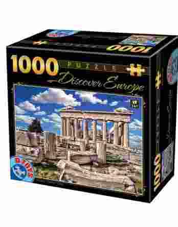 Παζλ Discover Europe Parthenon D-Toys 1000Τεμ. 65995-05