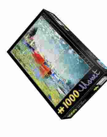 Παζλ Red Boats at Argenteuil Claude Monet D-Toys 1000Τεμ. 67548-04