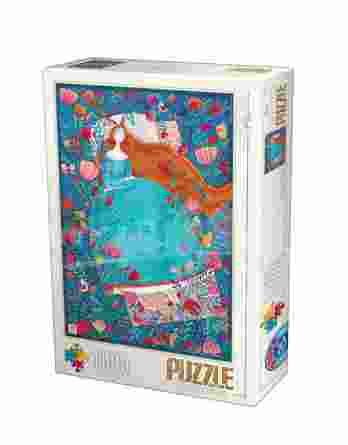 Παζλ Sleeping Beauty Andrea Kurti D-Toys 1000Τεμ. 72870-04
