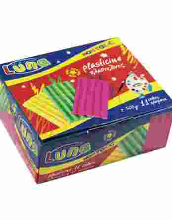 Πλαστελίνη Luna 11 χρώματα 0039409