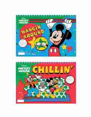 Μπλοκ Ζωγραφικής Mickey Mouse 40 Φύλλα 23x33cm 0562558