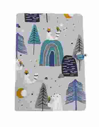 Day4you Υφασμάτινη θήκη Βιβλιαρίου Δάσος forest 60107