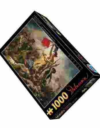 Παζλ Eugene Delacroix Liberty Leading The People D-Toys 1000Τεμ. 73808-01