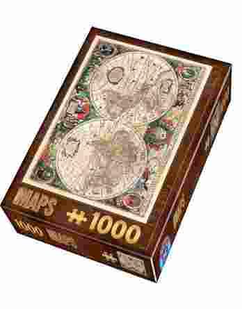 Παζλ Vintage Map D-Toys 1000Τεμ. 75710-01