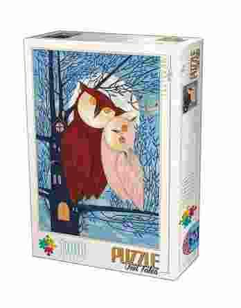 Παζλ Owl Tales I Andrea Kurti D-Toys 1000Τεμ. 75758-01
