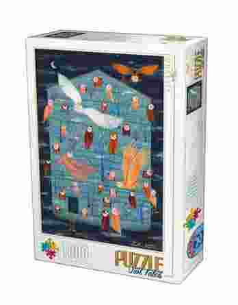 Παζλ Owl Tales II Andrea Kurti D-Toys 1000Τεμ. 75758-02
