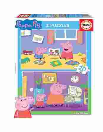 Educa Παζλ 2×20 Peppa Pig