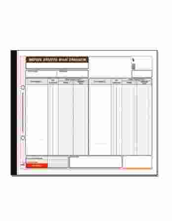Ημερήσιο φύλλο συναλλαγών υποκαταστήματος 308 Typotrust
