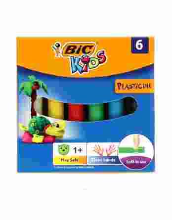 Πλαστελίνη Bic Kids (6 Χρώματα) #947712