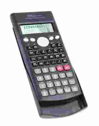 Επιστημονική Αριθμομηχανή Deli Μαύρο # DL-1710A