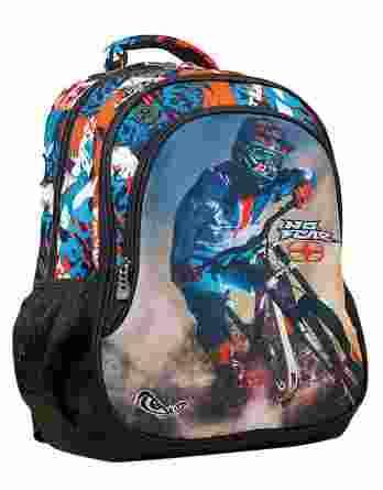 Τσάντα Πλάτης Δημοτικού No Fear Bmx Mountain Bike 347-73031