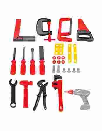 Εργαλειοθήκη με εργαλεία 25τμχ. Jamara